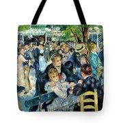 Bal Du Moulin De La Galette - Digital Remastered Edition Tote Bag