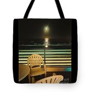 Balcony On The Pacific Oceanside California  Tote Bag