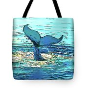 Balene-whales Tote Bag