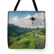 Bali Pathway Tote Bag