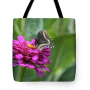 Ballet In The Air Tote Bag