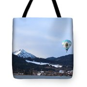 Balloons Over Tegernsee Tote Bag