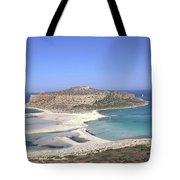 Balos Lagoon Tote Bag