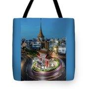 Bangkok Traffic Circle Tote Bag