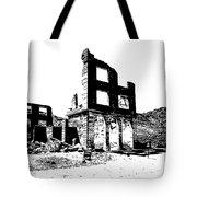 Bank Rhyolite Ghost Ghost Nevada Tote Bag