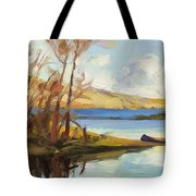 Banking On The Columbia Tote Bag
