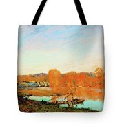 Banks Of The Seine Near Bougival - Digital Remastered Edition Tote Bag