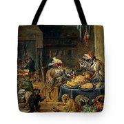 Banquete De Monos   Tote Bag