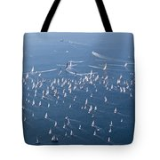 Barcolana Regatta 2018 Tote Bag by Helga Novelli