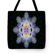 Baroque Fantasy Flowers Ornate Tote Bag