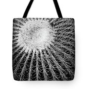 Barrel Cactus Black And White Tote Bag