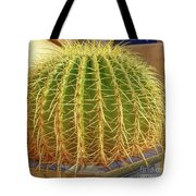 Barrel Cactus Royal Palms Phoenix Tote Bag