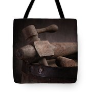 Barrel Tap With Corks Tote Bag