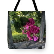Bars Of Rose Tote Bag