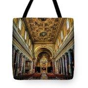 Basilica Di San Crisogono Tote Bag