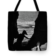 Scene With A Jumping Thing Tote Bag