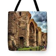 Baths Of Caracalla Tote Bag