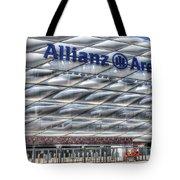 Allianz Arena Bayern Munich  Tote Bag