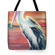 Bayou Pelican / Modern Ibis Tote Bag