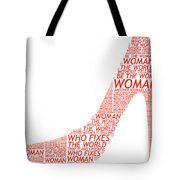Be The Woman Tote Bag