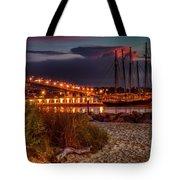 Beach Morning Tote Bag