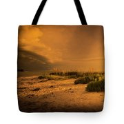 Beach Storm Front Tote Bag