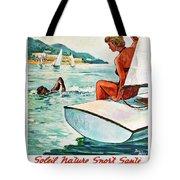 Beaches In Algeria Tote Bag