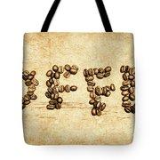 Bean Making Coffee Tote Bag