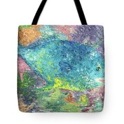 Beauty Of The Reef Tote Bag