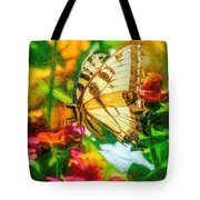 Beautiful Swallow Tail Butterfly Tote Bag by Don Northup