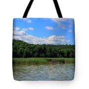 Beaver Lodge On Southern Lake Champlain New York Tote Bag