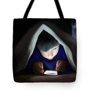 Bedtime Story Tote Bag by Mark Taylor