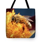 Bee Work 2 Tote Bag by Brian Hale