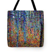Beech Grove Abstract Expressionism Tote Bag