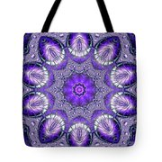 Bejeweled Easter Eggs Fractal Abstract Tote Bag by Rose Santuci-Sofranko