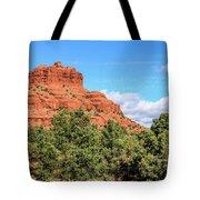 Bell Rock, Sedona Tote Bag by Dawn Richards