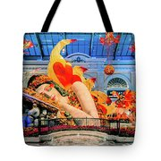 Bellagio Conservatory Falling Asleep Display Wide 2018 2.5 To 1 Aspect Ratio Tote Bag