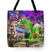 Bellagio Conservatory Spring Display Front Side View Wide 2018 2 To 1 Aspect Ratio Tote Bag