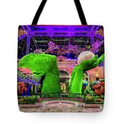 Bellagio Conservatory Spring Display Ultra Wide 2 To 1 Aspect Ratio Tote Bag