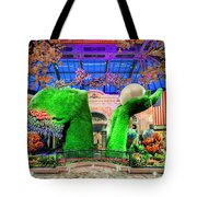 Bellagio Conservatory Spring Display Ultra Wide Trees 2018 2 To 1 Aspect Ratio Tote Bag