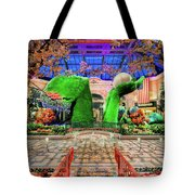 Bellagio Conservatory Spring Display Ultra Wide Trees 2018 Tote Bag