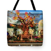 Bellagio Enchanted Talking Tree Ultra Wide 2018 2 To 1 Aspect Ratio Tote Bag