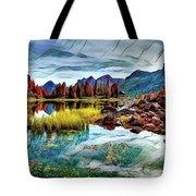 Belluno Mountains Tote Bag