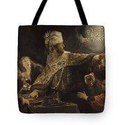 Belshazzar S Feast  Tote Bag