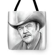 Ben Johnson Tote Bag