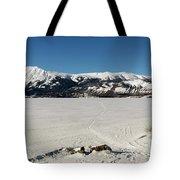 Bennett Lake At Carcross Yukon Tote Bag