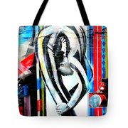 Bent Over Backward  Tote Bag