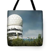 Berlin - Teufelsberg Listening Station Tote Bag