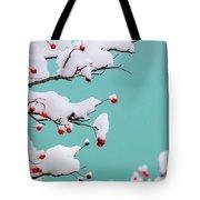 Berries And Cream Tote Bag