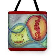 Beshert Os20pp Tote Bag by Hebrewletters Sl